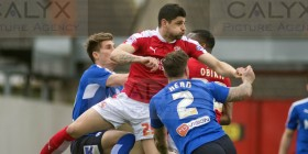 ©Calyx Pictures. FALicence: FLGE15/16P5737 Swindon Town v Chesterfield