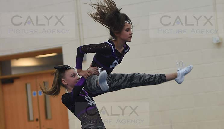 ©Calyx Picture Agency  Swindon Cheerleaders show  Lydiard Park Academy.