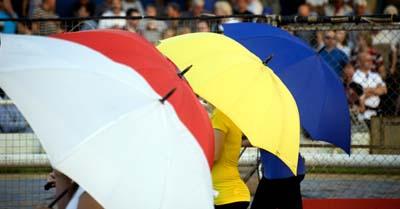 Speedway v BirminghamStartline girls colours