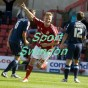 Swindon Town v AFC Bournemouth.Matt Richie celebrates