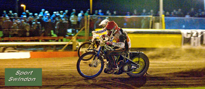 Speedway final first leg.Troy Batchelor