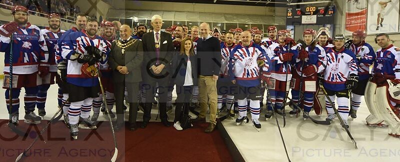 ©Calyx Picture Agency  Swindon Ice Hockey celebrates 30 years with a Legends game.